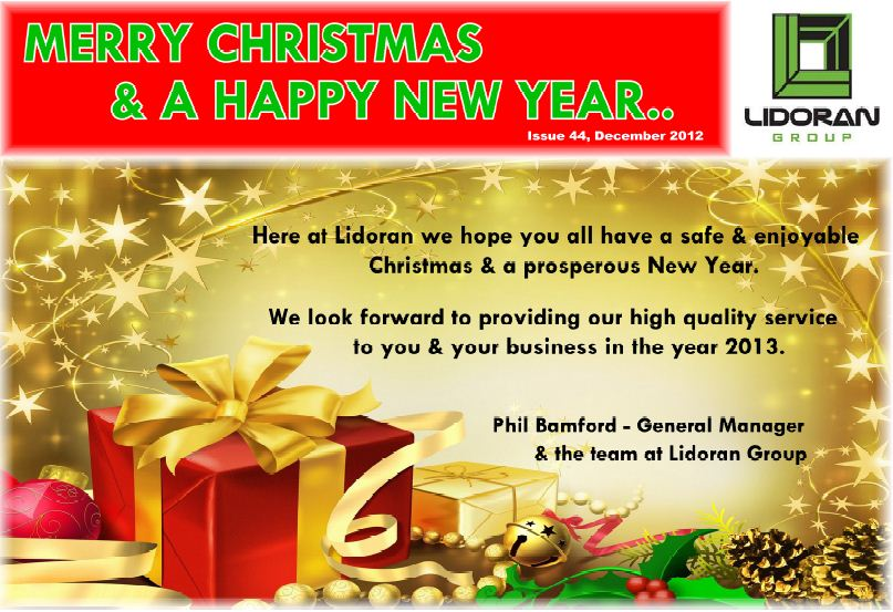 Merry Christmas from the Lidoran group